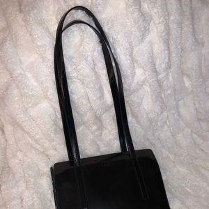 Prada Bags - PRADA Black Leather Handbag - dust bag included